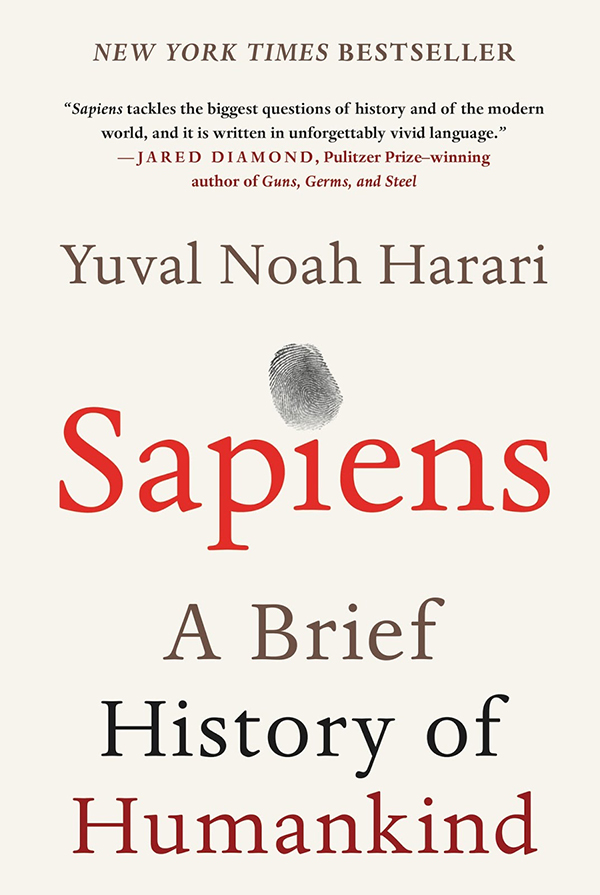 Sapiens - A Brief History of Humankind book