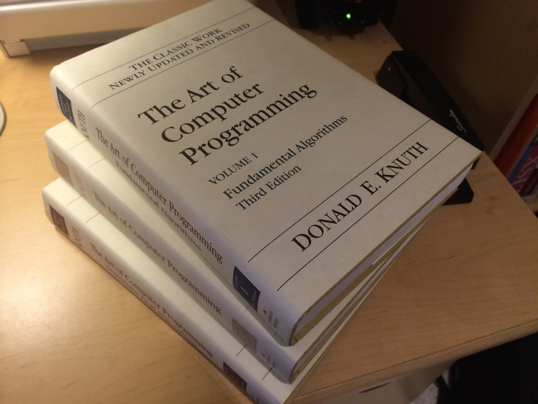 The Art of Computer Programming series